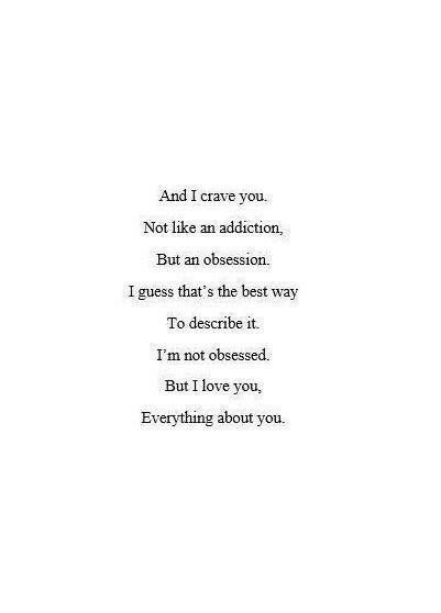 QUOTES ABOUT LOVE Photo OMG Quotes Your Daily Dose Of Adorable Love Obsession Quotes