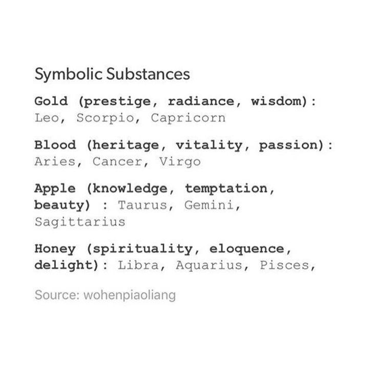 Honey (spirituality, eloquence, delight)- Pisces… – OMG