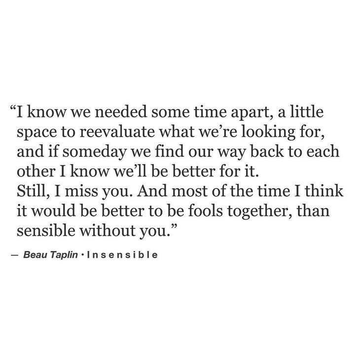 """Soulmate Quotes : """"I think it would be better to be fools ..."""