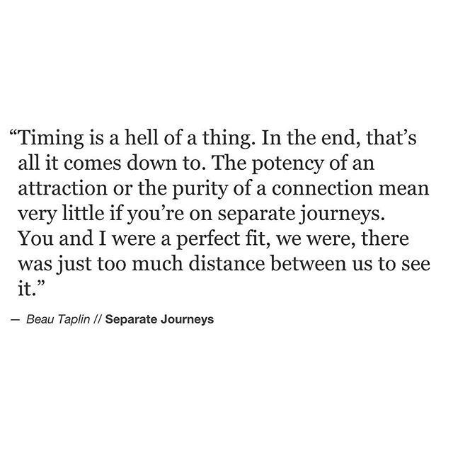 Soulmate Quotes : The distance that happens between two ...
