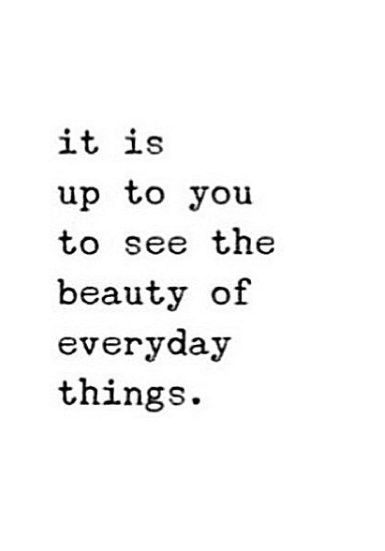 Everyday Quotes   Wisdom Quotes Always See The Beauty Of Every Day Things Omg