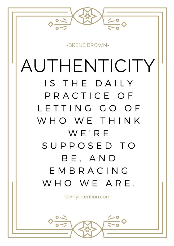Wisdom Quotes : brene brown authenticity quote. new years goals ...