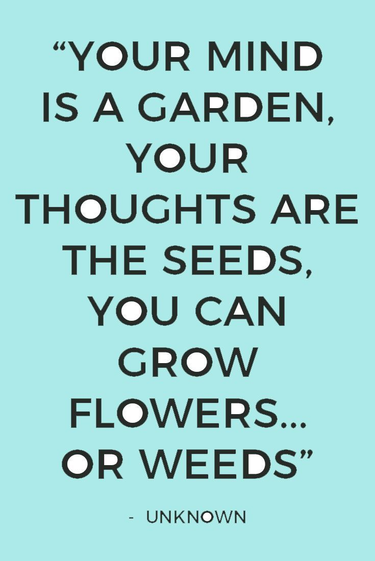 Quotes and sayings about the garden