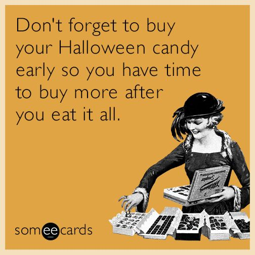 Best Funny Quotes : Don't Forget To Buy Your Halloween