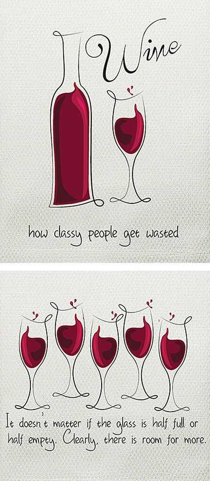Best Funny Quotes Wine Quote Kitchen Towel Set Omg Quotes