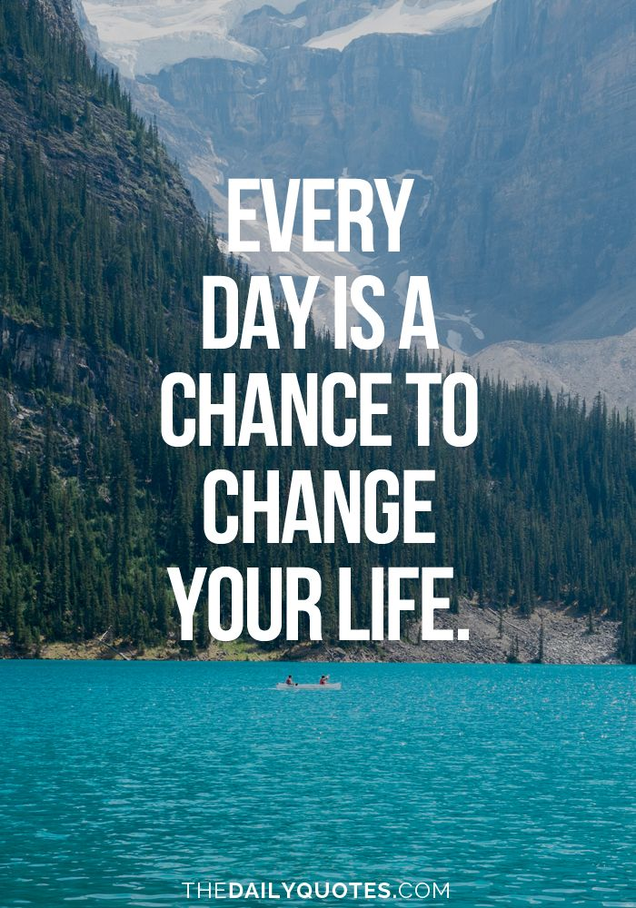 Inspirational Quotes For Workplace Change: Inspirational Quotes About Work : Every Day Is A Chance To