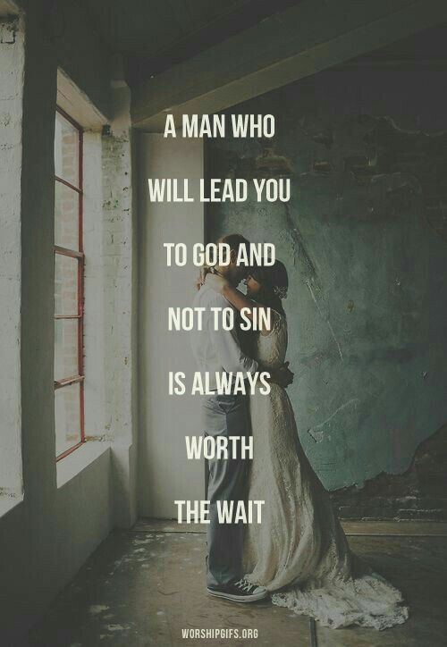 Love Quotes : A man who will lead you to God and not to ...