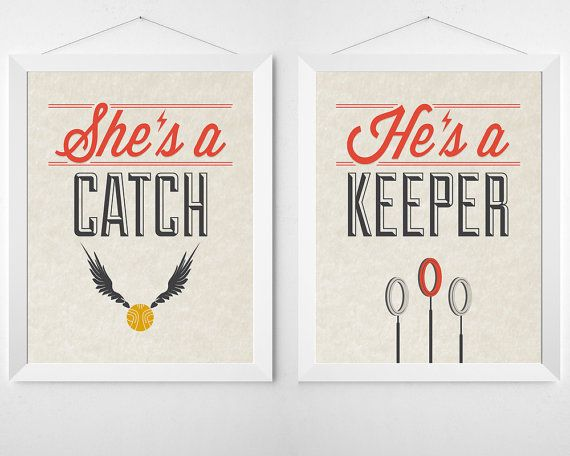 Quotes About Love For Him Harry Potter 2 Piece Print Set