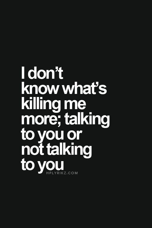 Quotes About Love For Him : I don\'t know what\'s killing me ...