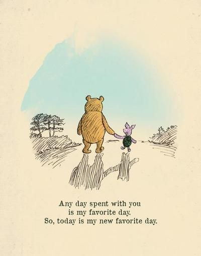 As The Quote Says Description Winnie The Pooh And Piglet