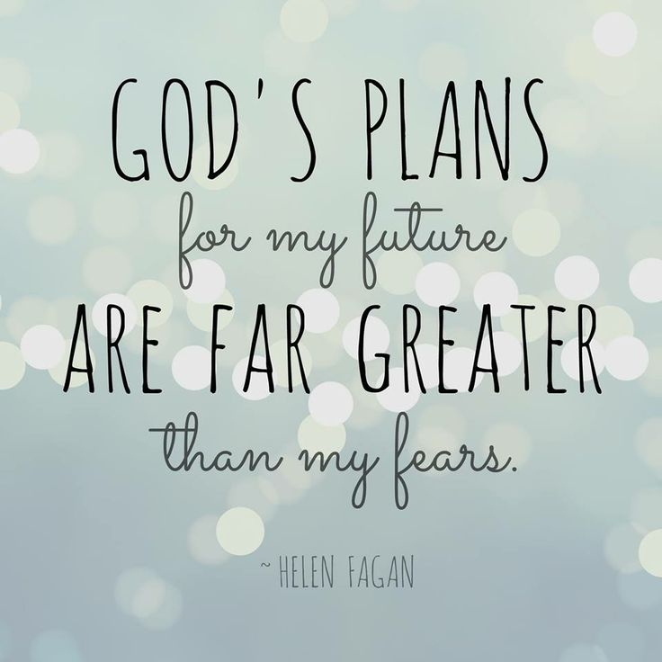 Inspirational Quotes about Strength: God\'s plans for me ...