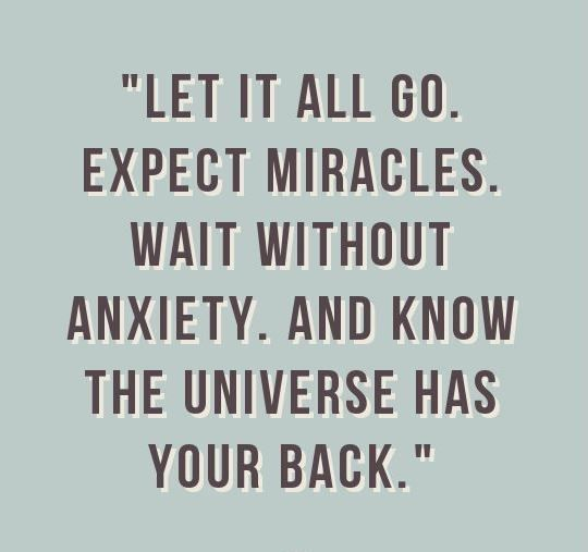 Success Quotes : The Universe Will Always Have Your Back