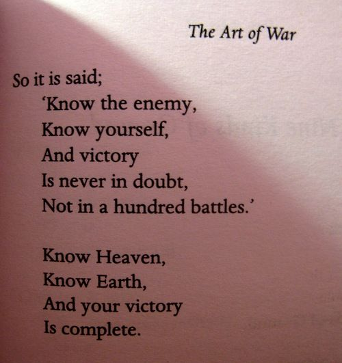 Wisdom Quotes The Art Of War Applicable A Day In The Life Of A