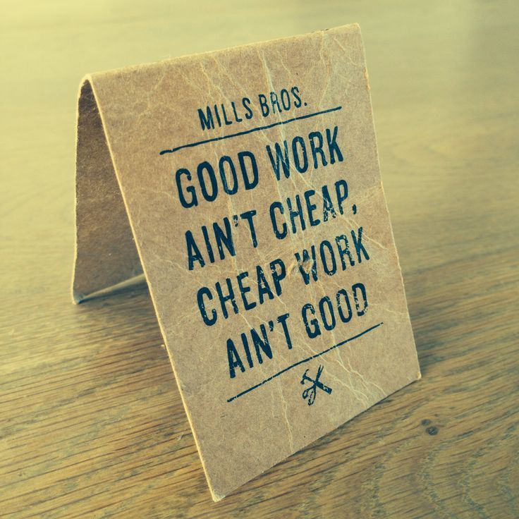 Best Funny Quotes : Good cheap work... - OMG Quotes   Your daily ...