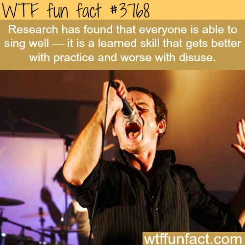 Best Funny Quotes : Singing is a skill learned, not ...