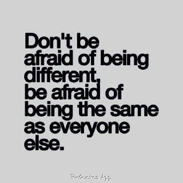 Inspirational Quotes About Strength True Be Different Have Morals