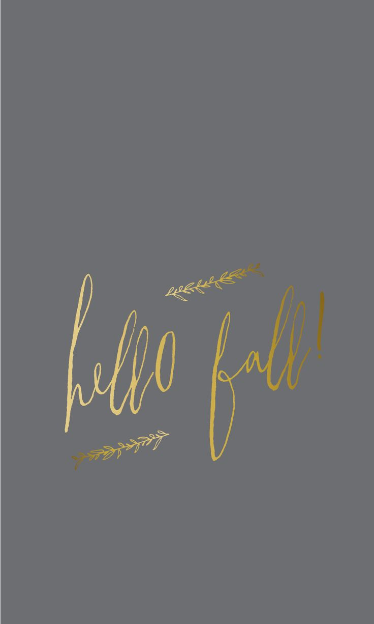 As The Quote Says U2013 Description. Hello Fall