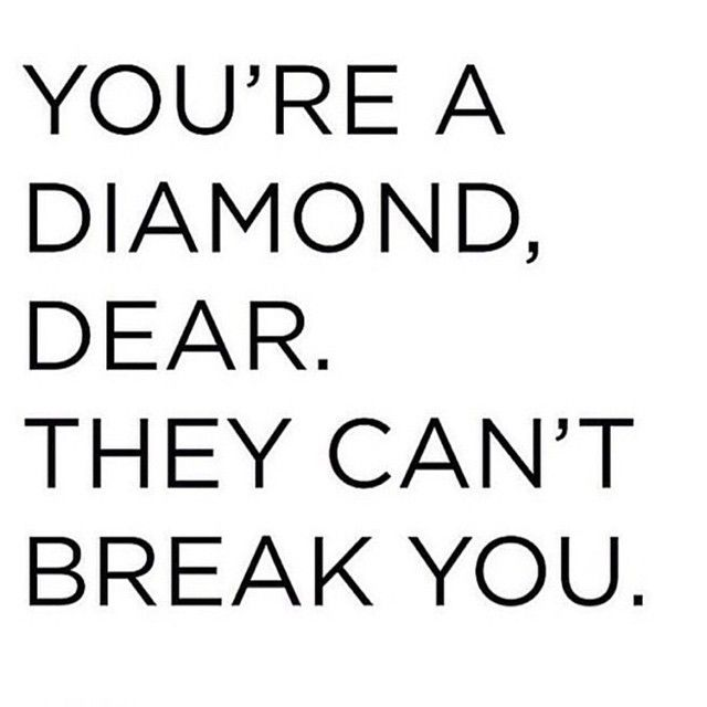 Motivational Quotes : You\'re a diamond dear!… – OMG Quotes ...