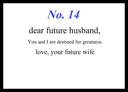 Quotes About Love For Him : To My Future Husband… – OMG ...