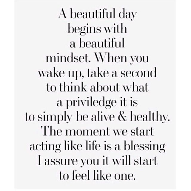Wisdom Quotes A Beautiful Day Begins With A Beautiful Mindset