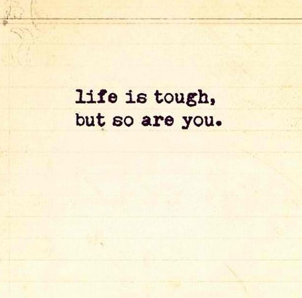 Life Is Tough, But So Are You. #strong #keepgoingu2026