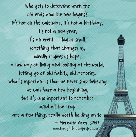 Life Quotes And Words To Live By New Beginnings Grey Quote