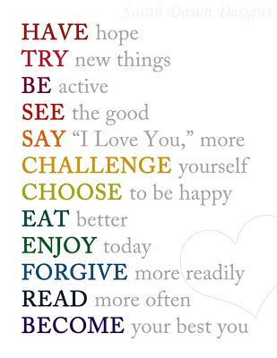 Wisdom Quotes : New Year Resolutions Printable… – OMG Quotes   Your ...
