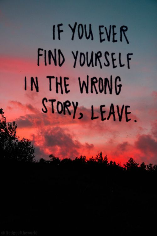 Wisdom Quotes : sometimes leaving is the best thing to do ...