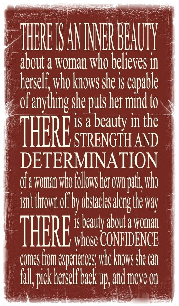 Wisdom Quotes There Is An Inner Beauty About A Woman Who Believes