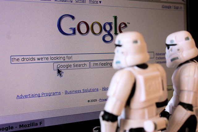 Best Funny Quotes : The droids we\'re looking for, Google ...