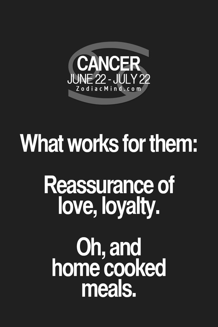 Inspirational Quotes About Work Cancer Zodiac Sign What Works
