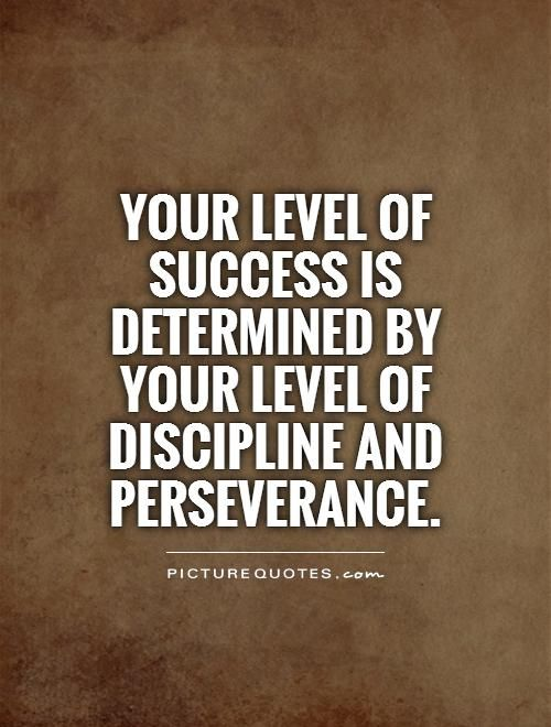 an analysis of the importance of perseverance in success The importance of perseverance - a letter from reb's president perseverance is often the difference between failure and success.