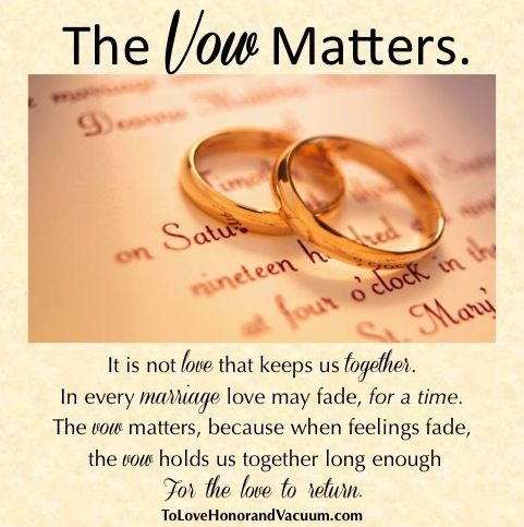 Love Quotes The Vow Matters OMG Quotes Your daily dose of