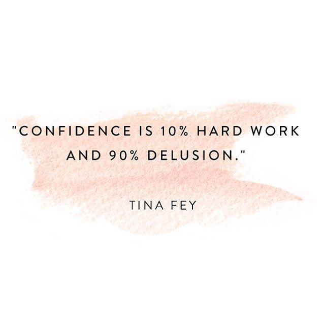 Confidence Quotes Sales: Motivational Quotes : €�Confidence Is 10% Hard Work And 90