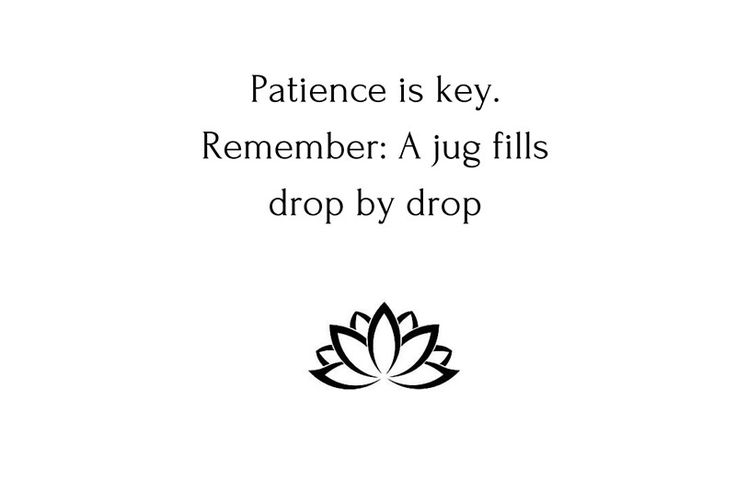 Wisdom Quotes : Buddhist Quote: Patience is key  Remember: A