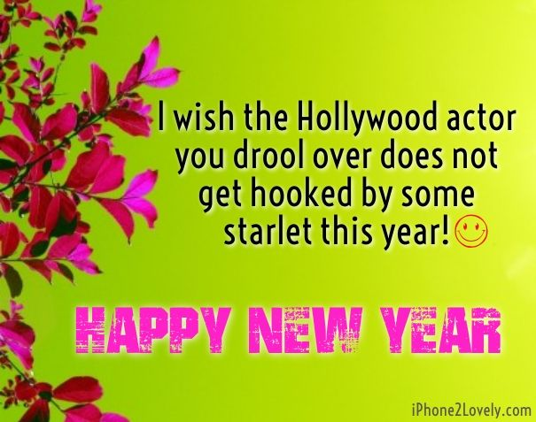 as the quote says description funny new year wishes messages