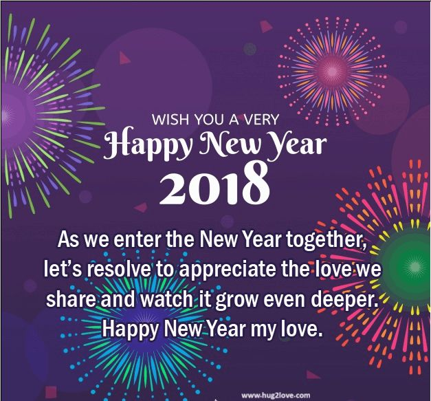 as the quote says description new style 2018 happy new year eve ecard for couple