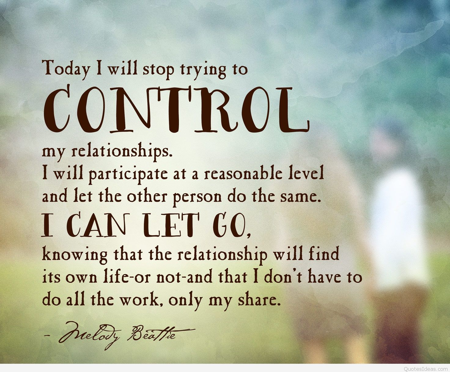 Control my relationship quote picture