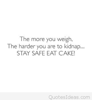 Funny weight quote