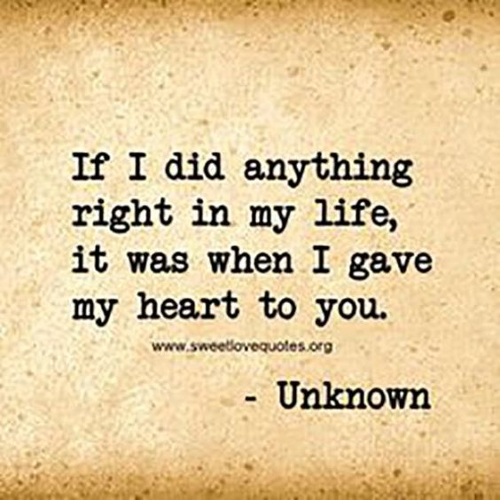 Life Quotes Inspiration 30 Beautiful Love Quotes From The Heart