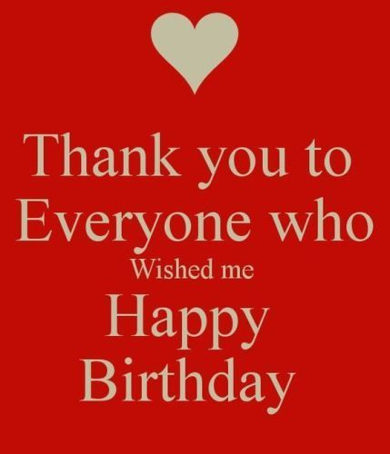 Best Birthday Quotes Birthday Thank You Messages Gratitude Our