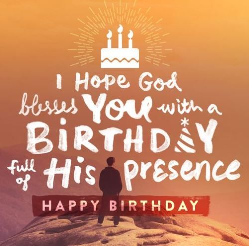 Best Birthday Quotes Blessing Birthday Wishes Quotes God Messages