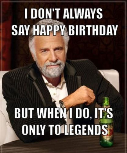 Happy Birthday Brother Funny — Lovely Meme #birthdayCoffee
