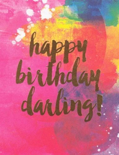 Best Birthday Quotes Happy Birthday Darling Funny Image To Wish