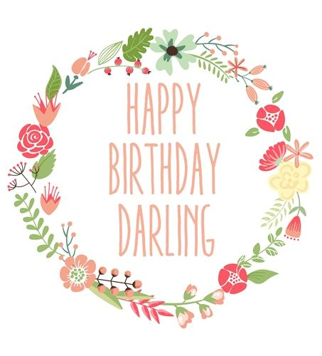 Best Birthday Quotes Happy Birthday Darling Pictures To Wish Your Boyfriend Girlfriend Brother Sister Or Friend On Their Special Day This Is A Beautiful Birthday Card To Dedicate To The Special