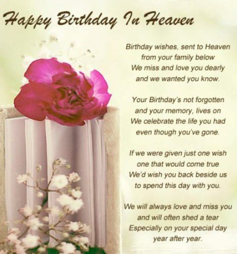 Best birthday quotes happy birthday in heaven quotes for friends as the quote says description bookmarktalkfo Image collections