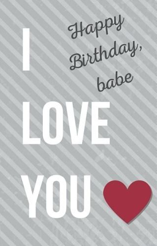 Best Birthday Quotes Happy Birthday My Lovely Babe Wishes To Your