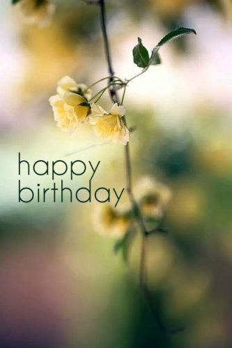 Best Birthday Quotes Happy Birthday Sms For Her Or Him On Their Birthday This Is A Simple B Day Card With Nature In Its Background This Is The Best Picture To Wish