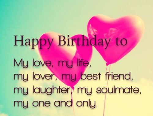 Best birthday quotes happy birthday to love of my life greeting as the quote says description bookmarktalkfo Images