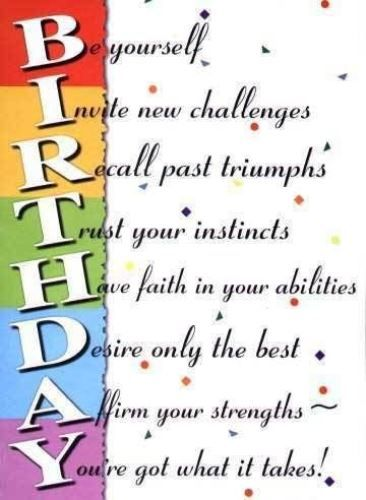 Best Birthday Quotes : Inspirational birthday wishes quotes ...